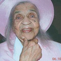 Emma Tillman at age 112 in October 2005