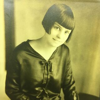 Ellison as a young woman