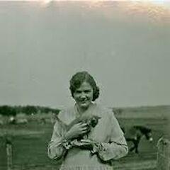 Iris Westman as a young woman.