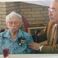 Hendrikje on her 115th birthday.
