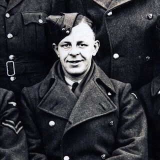 Ralph at an RAF training college in 1941