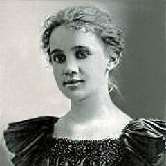 Sarah Knauss at age 17.