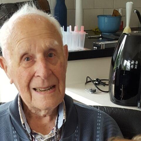 Eelke Bakker at age 106.
