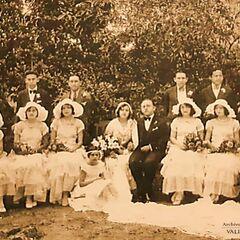 Marriage, 16 June 1931.