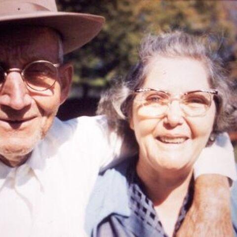 Edith with her husband Joe.
