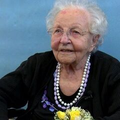 Stella Lennox at the age of 110