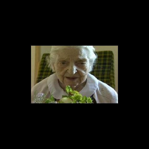 Zachrison at age 110.