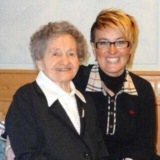At age 106.