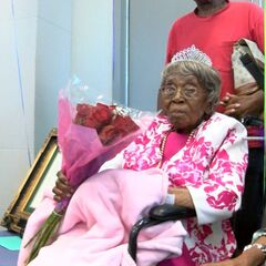 Ford celebrating her 114th birthday