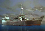 Cargo ship (Pink ice)