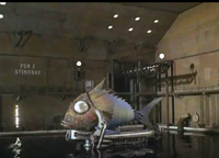Captured Mechanical fish