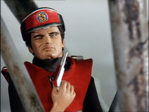 Captain Scarlet shot