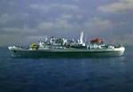 Ship (Golden sea)