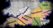 Keltische Stämme im Süden