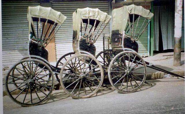 File:Handpulled-rickshaws-in-kolkata.jpg