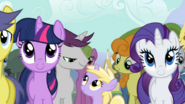 Written Script and Golden Harvest with filly Dinky Doo S2E14