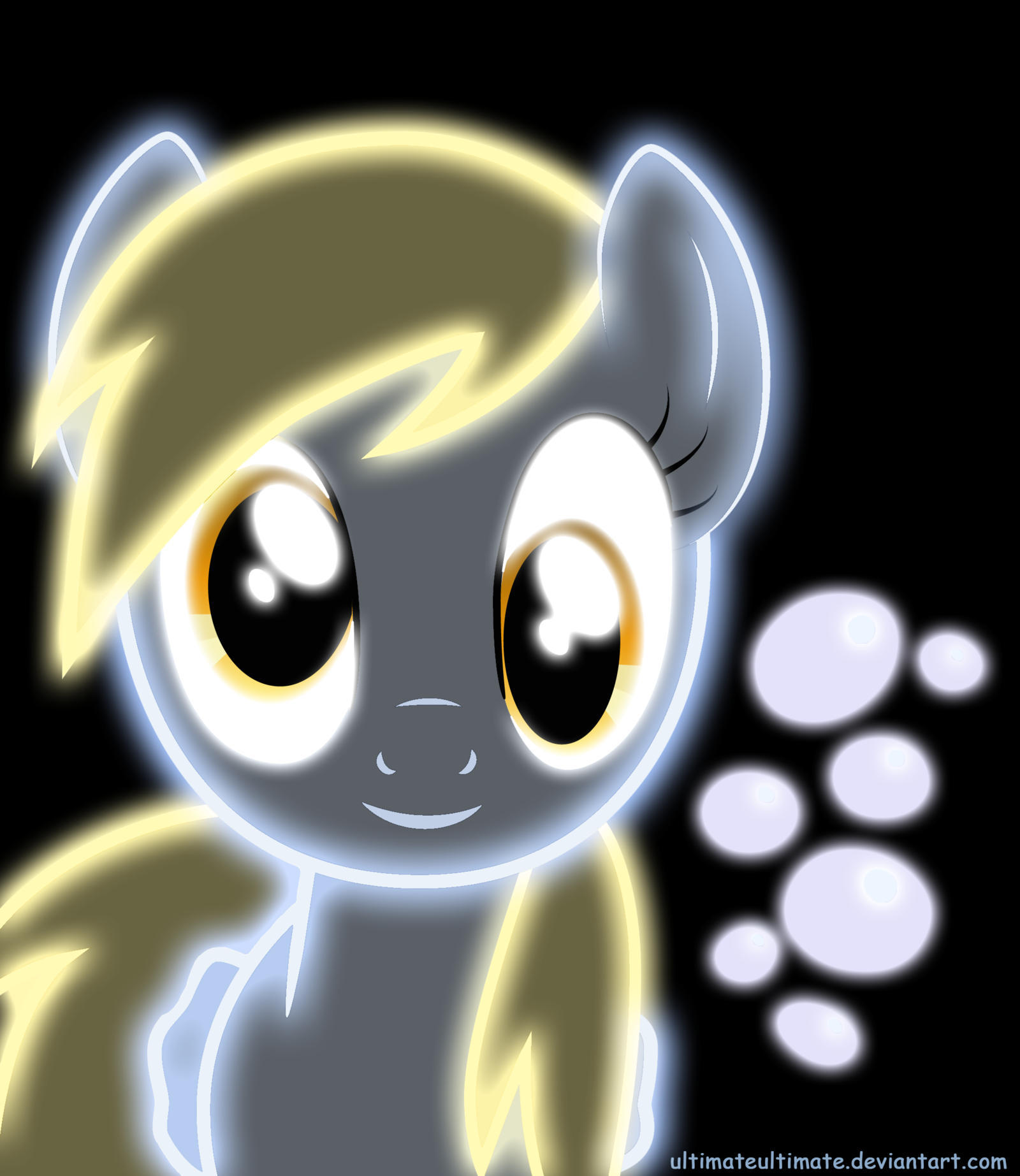 Neon Derpy Hooves By Ultimateultimate D4ywkby