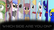 Choose your side pegasus device by bronydanceparty-d8p4rtq