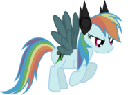 Rainbine dash vector by sonicth1235-d7zucry