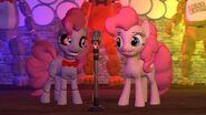 Pinkie animatronic