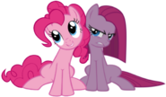 Pinkie and Pinkamena