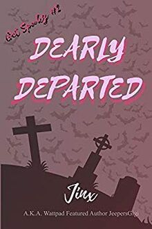 DEARLY DEPARTED kindle cover
