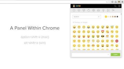 Emoji Keyboard for Chrome by EmojiOne™