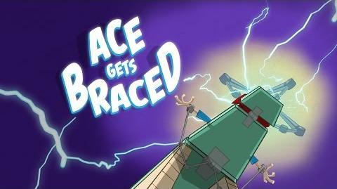 Ace Gets Braced