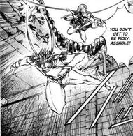 Emishi vs Saizou