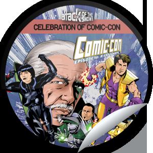 Attack of the Show Celebration of Comic Con Sticker