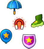 Various powerups