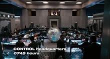 Control Headquarters film
