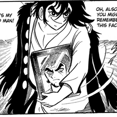 Ryoma shows of his deceased father <a href=