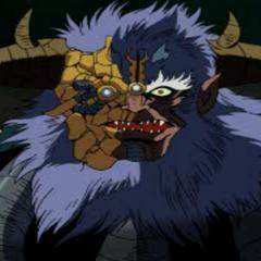 Emperor Burai as a Cyborg/Zombie
