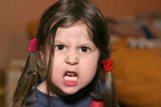 Angry face girl (2)