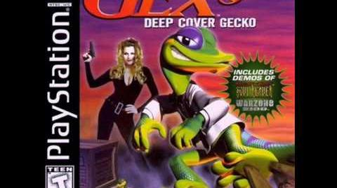 Gex 3 Deep Cover Gecko - Title Screen