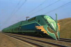 Mega Rayquaza Train
