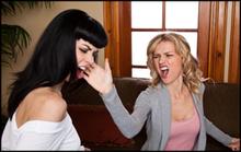 Women-slap