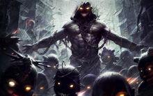 Dark-Monsters-Demons-Lord-Disturbed-Artwork