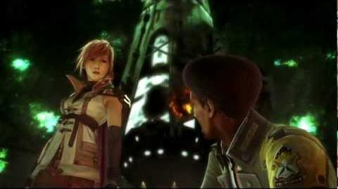Sazh tries to rape Lightning