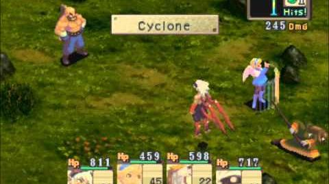 PS1 Gameplay - Breath of Fire IV - Boss 9 - Kahn (Second Fight - Worent)