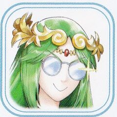 Palutena wearing her x-ray specs, allowing her to see your ignorance.