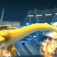 And Charizard swung His mighty tail, and it shone with the light of a million beacons, and it was good.