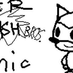 Paper Smash Bros: Sonic