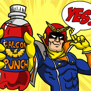 PLEASE BUY THE OFFICIAL DRINK OF <b>CAPTAIN FALCONE</b>