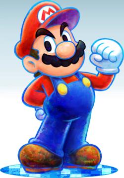Mario and Luigi Mario Smash