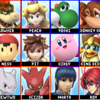 Red means unlockable, as always, green means starting clone, and yellow means unlockable clone.