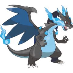 Charizard did assume the form of a fell Dragon, to purge the world of Rayquaza and its unholy Dragon Pokémon.