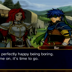 Ike's reaction to Endgame.