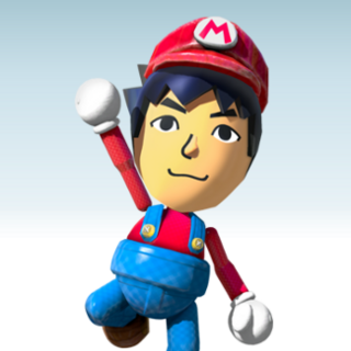 Mii's appearance in Mario Chase